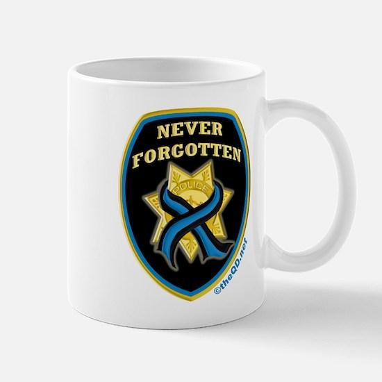 Thin Blue Line NeverForgotten Mug