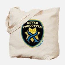 Thin Blue Line NeverForgotten Tote Bag