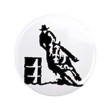 "Barrel Racing 3.5"" Button (100 pack)"