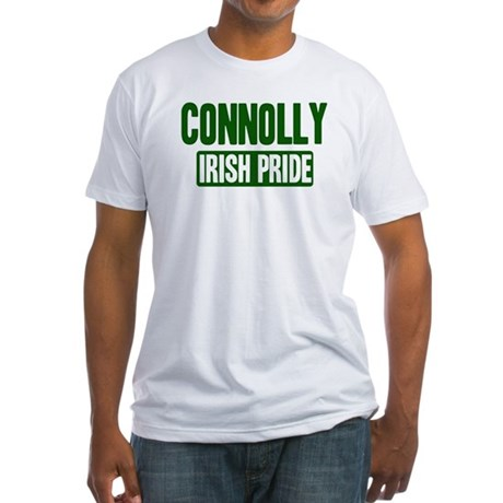 Connolly irish pride Fitted T-Shirt