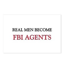 Real Men Become Fbi Agents Postcards (Package of 8