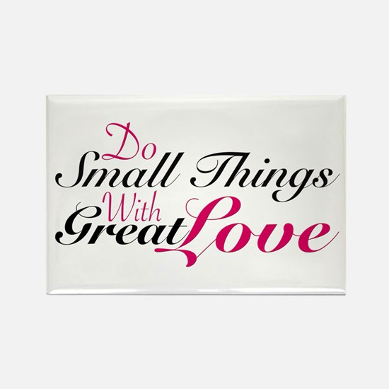 Do Small Things Magnets