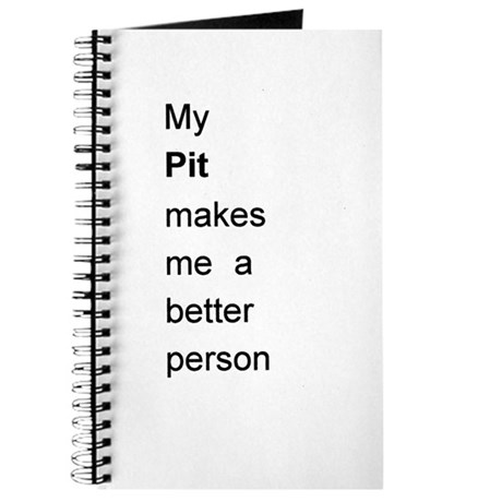 Pit Better Person Journal