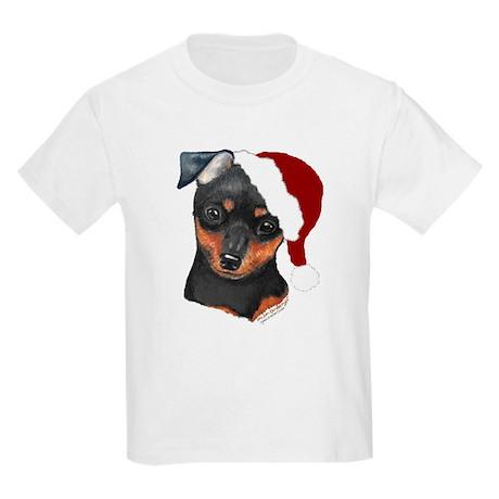 """Santa Puppy"" Kids T-Shirt"