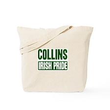 Collins irish pride Tote Bag
