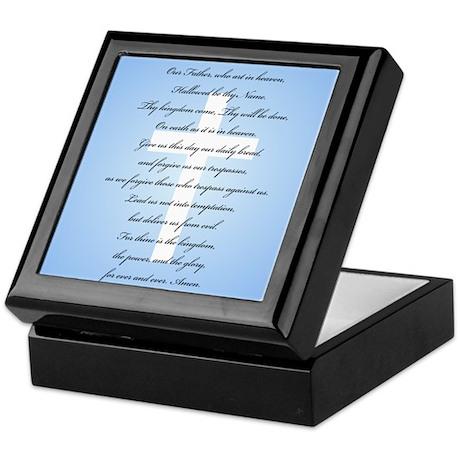 The Lord's Prayer Keepsake Box