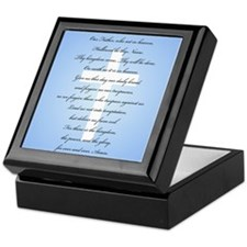 The Lord's Prayer Keepsake Box