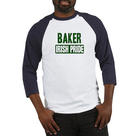 Baker irish pride Baseball Jersey