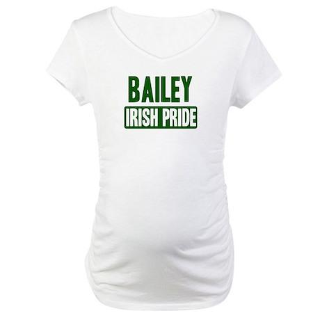 Bailey irish pride Maternity T-Shirt