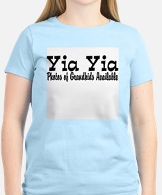 Yia Yia with Photos T-Shirt