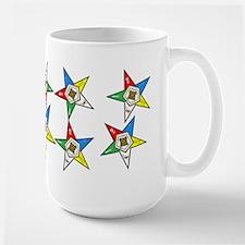 OES Stars Large Mug