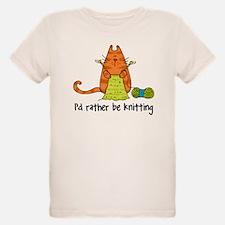 rather be knitting shirt T-Shirt