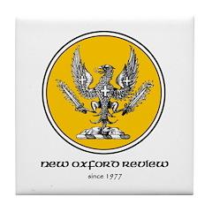 Logo Gold Tile Coaster