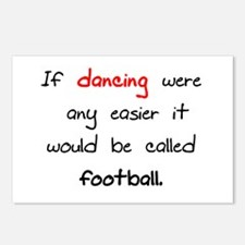 If dancing where any easier i Postcards (Package o