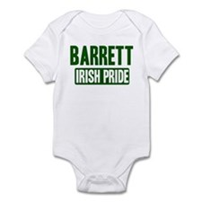 Barrett irish pride Infant Bodysuit