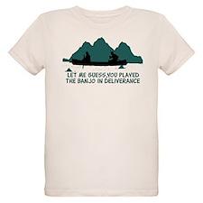 Unique Music canoeing deliverance humor T-Shirt