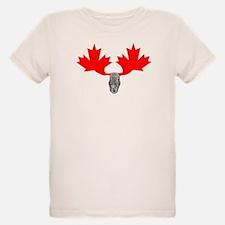Canadian Maple Leaf & Moose T-Shirt