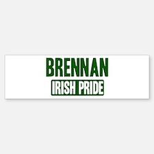 Brennan irish pride Bumper Bumper Bumper Sticker