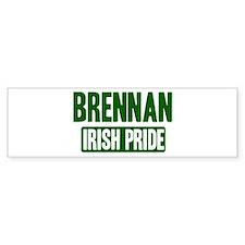 Brennan irish pride Bumper Bumper Sticker