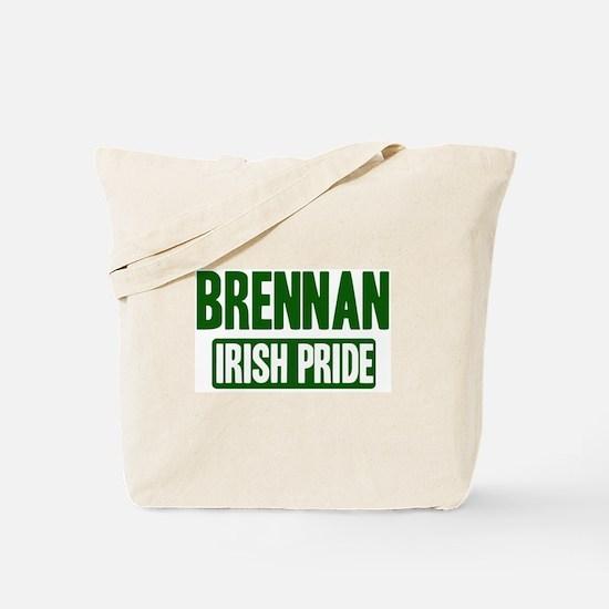 Brennan irish pride Tote Bag