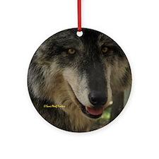 Grey Wolf: Nira Ornament (Round)