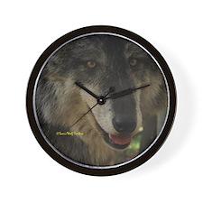 Grey Wolf: Nira Wall Clock