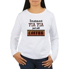 Instant Yia Yia Coffee T-Shirt