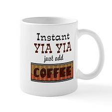 Instant Yia Yia Coffee Small Mugs