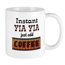 Instant Yia Yia Coffee Small Mugs