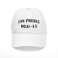 USS PREBLE Cap