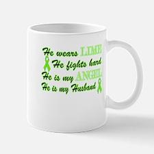 He is my Husband Lime Angel Mug