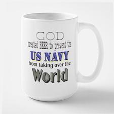 US Navy Beer Mug
