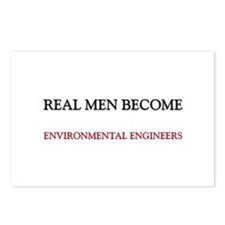 Real Men Become Environmental Engineers Postcards