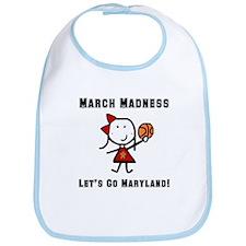 March Madness UMD Bib