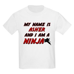 my name is asher and i am a ninja T-Shirt