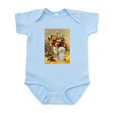 Vase / Poodle (White) Infant Bodysuit