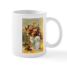 Vase / Poodle (White) Mug