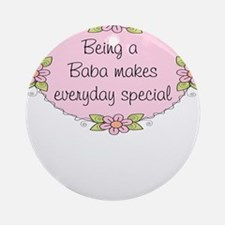 Baba Special Ornament (Round)