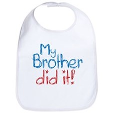 My Brother Did It! (2) Bib