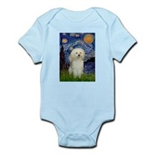 Starry / Poodle (White) Infant Bodysuit