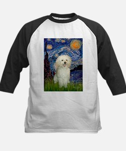 Starry / Poodle (White) Tee