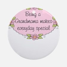 Grandmama Special Ornament (Round)
