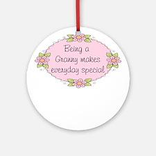 Granny Special Ornament (Round)