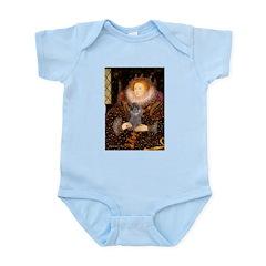 Elizabeth / Poodle (Silver) Infant Bodysuit