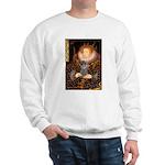 Elizabeth / Poodle (Silver) Sweatshirt