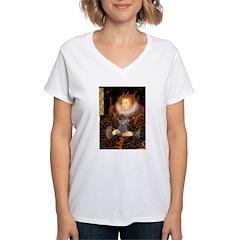 Elizabeth / Poodle (Silver) Shirt