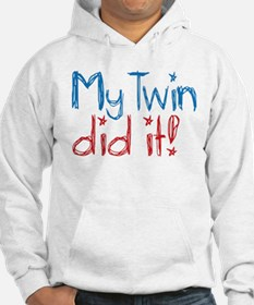 My Twin Did It! (2) Hoodie