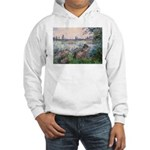 Seine / Poodle (Silver) Hooded Sweatshirt