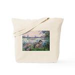 Seine / Poodle (Silver) Tote Bag