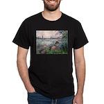 Seine / Poodle (Silver) Dark T-Shirt